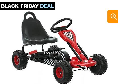 Halfords Black Friday Sale Kids Go Kart Black Amp Red