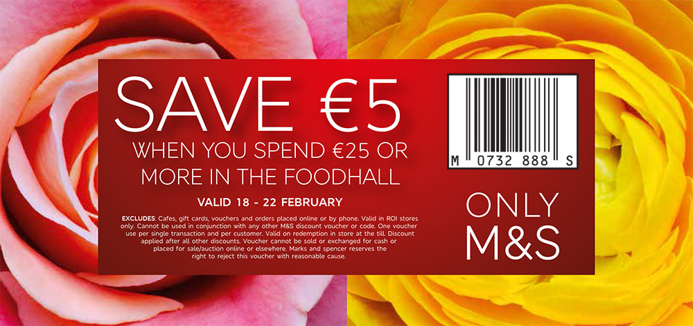 M Amp S Save 5 When You Spend 25 Or More In The Food Hall