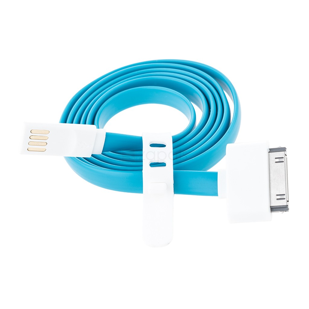 buy 30 pin to usb cable for iphone 4 4s 1m with free of. Black Bedroom Furniture Sets. Home Design Ideas