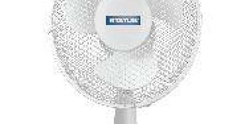STATUS 9 Desk Fan – White   now only €14.99 (WAS €29.99 Save 50%) – @ currys.