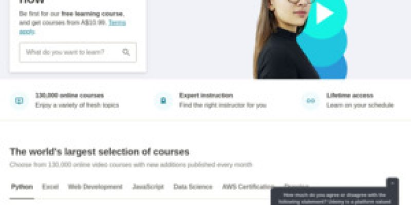 80+ $0 Udemy Courses: Complete Bootstrap 5, Python, SQL, Agile & Scrum, Packet Analysis and Ethical Hacking, Technical Writing