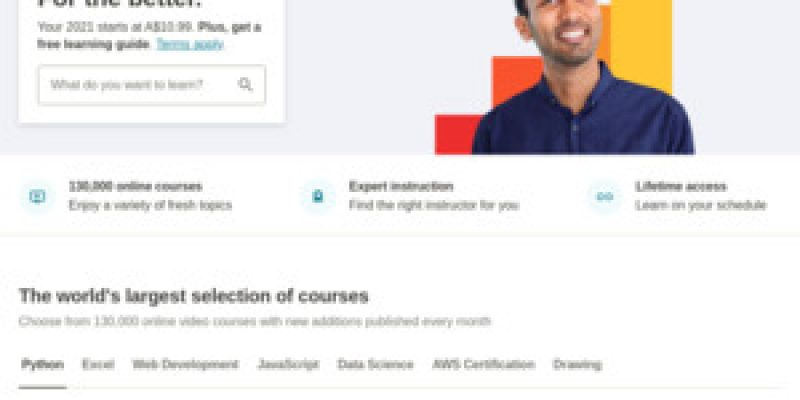 $0 Udemy Courses: Cyber Security, Python, Motivation, Ethical Hacking, Adobe Photoshop, Excel, Brain Training, Bootstrap & More