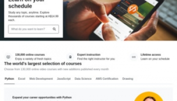 $0 Udemy Courses: Python 3, Javascript, Bootstrap, CSS, Machine Learning, Excel, Photoshop, Illustrator & More