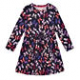 Girls multi-coloured butterfly print dress now only €10.50 (WAS €13.30 Save 21%) – @ toys.