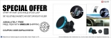 Expired:360 degree adjustable magneticair vent car mount holder absolutely FREE with US$3.99 shipping