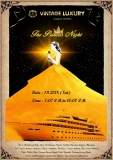 """The Princess Night""is going to arrange by Vintage Luxury Yacht Hotel on September 1st at 7PM."