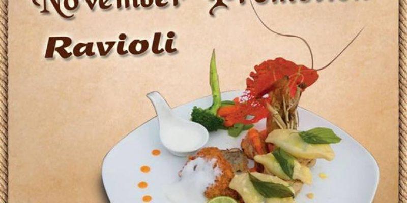 Vintage Luxury Festive Promotion Offer for November Month– Food at 10,000Ks  only.