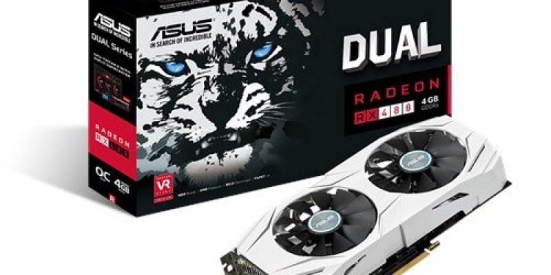 Asus RX 480 4GB Dual OC Graphics Card £140.52 Delivered @ Amazon UK