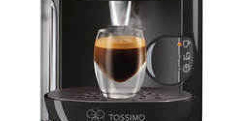 Tassimo by Bosch T12 Vivy Coffee Machine – Black.   now only €51.99 (WAS €119.90 Save 57%) – @ argos.