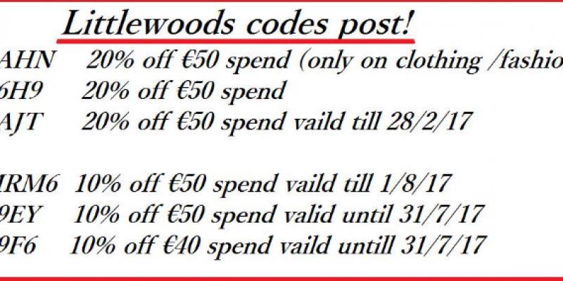 Littlewoods Discount Codes