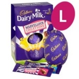 Cadbury Marvellous Creations Large Easter Egg 291G now only €2.14 (WAS €8.49 €  Save: € 6.35 (75%) – @Tesco