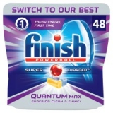 Finish Quantum Original 48 Dishwasher Tablets now only €13 (WAS €21 Save 38%) – @tesco