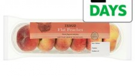 Tesco Flat Peach Minimum 4 Pack now only €0.49 (WAS €1.79 Save 73%) – @ tesco.