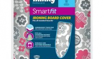 Minky SMART FIT IRONING BOARD COVER 125 X 45CM now only €3.99 (WAS €9.99 Save 60%) – @ littlewoods.