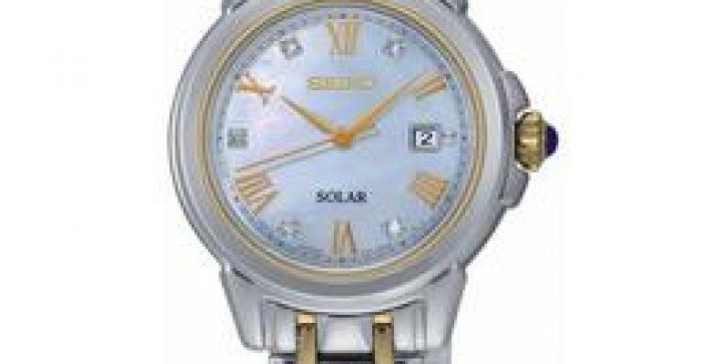 Seiko Diamond Dial Two Tone Solar Bracelet Ladies Watch   now only €214 (WAS €359 Save 40%) – @ littlewoods.