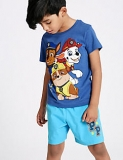 Paw Patrol Cotton Rich Short Pyjamas (1-6 Years) now only €13.50 (WAS €15 Save 10%) – @mands.