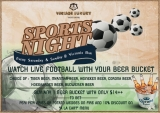 """""""SPORTS NIGHT"""" is waiting for you at Victoria Bar"""