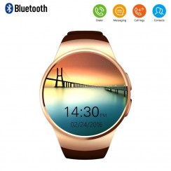 Get KINGWEAR KW18 Wearable 1.3″ Smart Watch Phone for Android iOS- $ 61.99