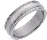 Expired:Men's Cobalt 8mm Ring Less Than Half Price €30.99 was €110.99 @Argos