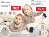 Expired:Pull On Trousers 2 pack for €5.99 & Cardigan €9.99 – Best for Baby Specials from Monday 5th September @Lidl