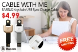 Baseus Keychain USB Sync Charge Cable