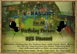 Vintage Luxury Yacht Hotel Hangout  At 25% Discount For all Birthday Person