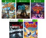 Expired:Xbox Free Games with Gold May 2016 – Sunset Overdrive, Defense Grid 2, Costume Quest 2, GRID 2 & Peggle