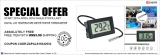 Expired: Digital LCD temperature meter tester thermometer