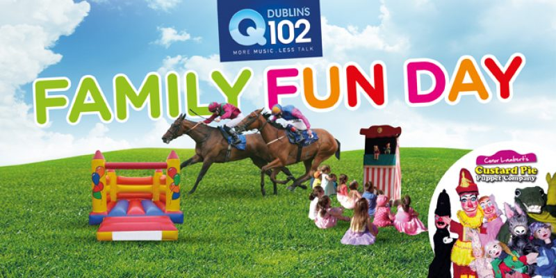 Expired: Fairyhouse Family Fun Day Sunday 10th July  Under 18's Free – includes Puppet shows, Bouncy Castles, Games, Face Painting etc