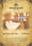 Great room promotion for local customer from Vintage Luxury Yacht  Hotel until 30th September.