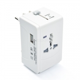 Exclussive Christmas Gifts – UTA-933 Universal Wall Charger Adaptor Travel Power Converter w/USB Port