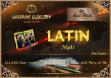 Do you admirer of LATIN Live Music???Then come to Vintage Luxury Yacht Hotel on 12.1.2019 (Sat), 8:00 Pm to 10:00 Pm.