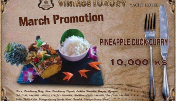 Breaking news for food lovers!!! Vintage Luxury Festive Offer for March Promotion .