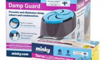 Minky 200g Damp Guard with 4 Refill Tablets now only €17.99 (WAS €10.99 Save 61%) – @ currys.