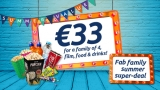 Expired:ODEON OFFER – Families of four can enjoy film, food and drink for only €33, and families of 3 only €29 @ODEON Cinemas