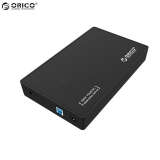 "ORICO 3588US3-BK 3.5"" USB 3.0 ToolFree External HDD Enclosure SATA 3"