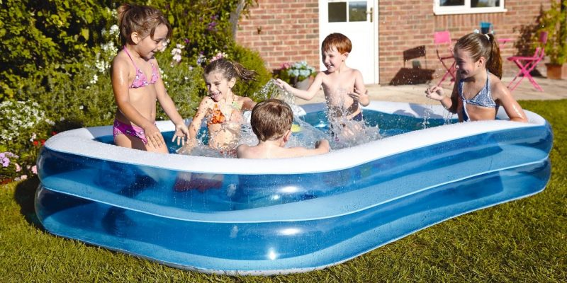 Expired:Bestway Blue Rectangular Family Pool Was €39.00 Now €19.00 Save €20.00 @Littlewoods