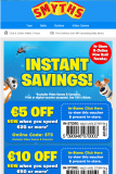 Expired: Smyths Toys – €5 off €20 Spend, €10 off €50 Spend, or €20 off €100 or more Spend online & in-store until 27th Sept 2016!