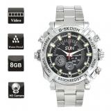 8GB Waterproof Sports Watch w/ Spy Camera HD Cam Wrist Video Recorder