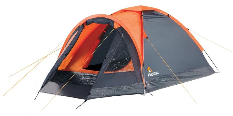 Expired:Aventura 2 Man Dome Tent with porch €12 SAVE €25.50 Was €37.50 @Halfords while stocks last