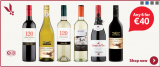 Tesco wine – buy 6 and save 5% so 6 bottles of wine for €37.50 until 13th December.